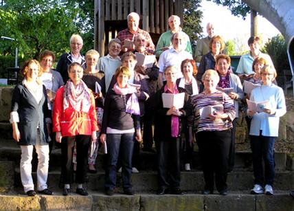 Auftritt des Kirchenchors im Gottesdienst